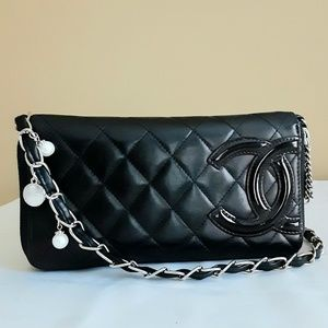 Chanel Quilted Cambon Woc Crossbody